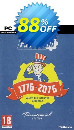 Fallout 76 Tricentennial Edition PC Coupon discount Fallout 76 Tricentennial Edition PC Deal 2021 CDkeys - Fallout 76 Tricentennial Edition PC Exclusive Sale offer for iVoicesoft
