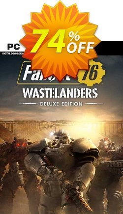 Fallout 76: Wastelanders Deluxe Edition PC - EMEA  Coupon discount Fallout 76: Wastelanders Deluxe Edition PC (EMEA) Deal 2021 CDkeys - Fallout 76: Wastelanders Deluxe Edition PC (EMEA) Exclusive Sale offer for iVoicesoft