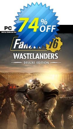 Fallout 76: Wastelanders Deluxe Edition PC - AUS/NZ  Coupon discount Fallout 76: Wastelanders Deluxe Edition PC (AUS/NZ) Deal 2021 CDkeys - Fallout 76: Wastelanders Deluxe Edition PC (AUS/NZ) Exclusive Sale offer for iVoicesoft