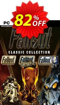 Fallout Classic Collection PC Coupon discount Fallout Classic Collection PC Deal 2021 CDkeys - Fallout Classic Collection PC Exclusive Sale offer for iVoicesoft