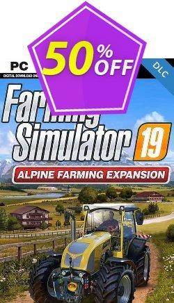 Farming Simulator 19 - Alpine Farming PC - DLC Coupon discount Farming Simulator 19 - Alpine Farming PC - DLC Deal 2021 CDkeys - Farming Simulator 19 - Alpine Farming PC - DLC Exclusive Sale offer for iVoicesoft