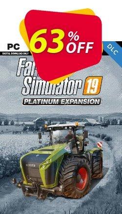 Farming Simulator 19 PC - Platinum Expansion DLC Coupon discount Farming Simulator 19 PC - Platinum Expansion DLC Deal 2021 CDkeys - Farming Simulator 19 PC - Platinum Expansion DLC Exclusive Sale offer for iVoicesoft