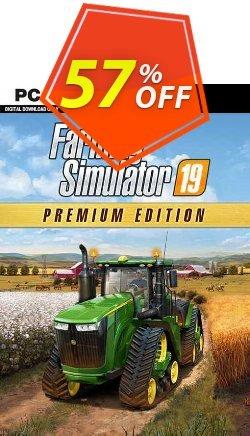 Farming Simulator 19 - Premium Edition PC Coupon discount Farming Simulator 19 - Premium Edition PC Deal 2021 CDkeys - Farming Simulator 19 - Premium Edition PC Exclusive Sale offer for iVoicesoft
