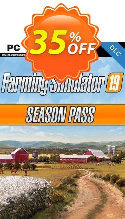 Farming Simulator 19 - Season Pass PC Coupon discount Farming Simulator 19 - Season Pass PC Deal 2021 CDkeys - Farming Simulator 19 - Season Pass PC Exclusive Sale offer for iVoicesoft