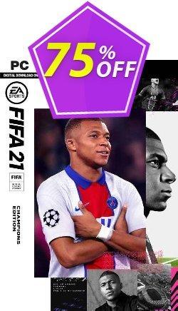 FIFA 21 - Champions Edition PC - EN  Coupon discount FIFA 21 - Champions Edition PC (EN) Deal 2021 CDkeys - FIFA 21 - Champions Edition PC (EN) Exclusive Sale offer for iVoicesoft