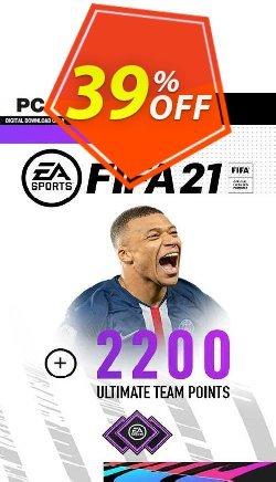 FIFA 21 PC + 2200 FIFA Points Bundle Coupon discount FIFA 21 PC + 2200 FIFA Points Bundle Deal 2021 CDkeys - FIFA 21 PC + 2200 FIFA Points Bundle Exclusive Sale offer for iVoicesoft