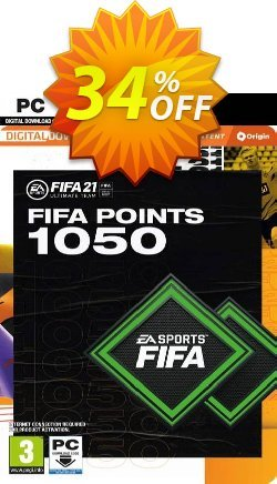 FIFA 21 Ultimate Team 1050 Points Pack PC Coupon discount FIFA 21 Ultimate Team 1050 Points Pack PC Deal 2021 CDkeys - FIFA 21 Ultimate Team 1050 Points Pack PC Exclusive Sale offer for iVoicesoft