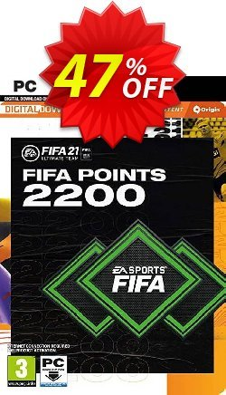 FIFA 21 Ultimate Team 2200 Points Pack PC Coupon discount FIFA 21 Ultimate Team 2200 Points Pack PC Deal 2021 CDkeys - FIFA 21 Ultimate Team 2200 Points Pack PC Exclusive Sale offer for iVoicesoft