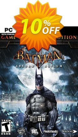 Batman Arkham Asylum Game of the Year Edition PC Coupon discount Batman Arkham Asylum Game of the Year Edition PC Deal 2021 CDkeys - Batman Arkham Asylum Game of the Year Edition PC Exclusive Sale offer for iVoicesoft