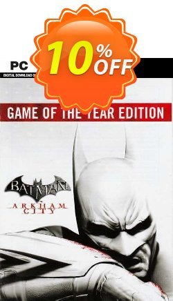 Batman Arkham City  Game of the Year Edition PC Coupon discount Batman Arkham City  Game of the Year Edition PC Deal 2021 CDkeys - Batman Arkham City  Game of the Year Edition PC Exclusive Sale offer for iVoicesoft