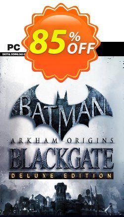 Batman: Arkham Origins Blackgate - Deluxe Edition PC Coupon discount Batman: Arkham Origins Blackgate - Deluxe Edition PC Deal 2021 CDkeys - Batman: Arkham Origins Blackgate - Deluxe Edition PC Exclusive Sale offer for iVoicesoft