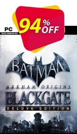 Batman: Arkham Origins Blackgate - Deluxe Edition PC Coupon discount Batman: Arkham Origins Blackgate - Deluxe Edition PC Deal 2021 CDkeys. Promotion: Batman: Arkham Origins Blackgate - Deluxe Edition PC Exclusive Sale offer for iVoicesoft