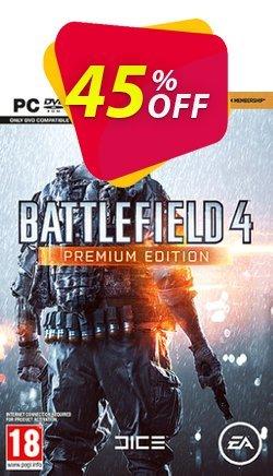 Battlefield 4 Inc Premium Edition DLC PC Coupon discount Battlefield 4 Inc Premium Edition DLC PC Deal 2021 CDkeys - Battlefield 4 Inc Premium Edition DLC PC Exclusive Sale offer for iVoicesoft