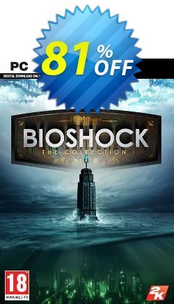 BioShock The Collection PC Coupon discount BioShock The Collection PC Deal 2021 CDkeys - BioShock The Collection PC Exclusive Sale offer for iVoicesoft