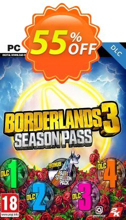 Borderlands 3 - Season Pass PC - Steam  Coupon discount Borderlands 3 - Season Pass PC (Steam) Deal 2021 CDkeys - Borderlands 3 - Season Pass PC (Steam) Exclusive Sale offer for iVoicesoft