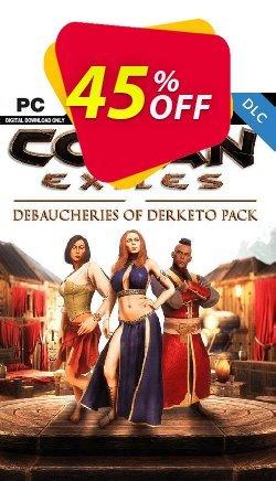 Conan Exiles - Debaucheries of Derketo Pack DLC Coupon discount Conan Exiles - Debaucheries of Derketo Pack DLC Deal 2021 CDkeys - Conan Exiles - Debaucheries of Derketo Pack DLC Exclusive Sale offer for iVoicesoft