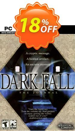 Dark Fall The Journal PC Coupon discount Dark Fall The Journal PC Deal 2021 CDkeys - Dark Fall The Journal PC Exclusive Sale offer for iVoicesoft