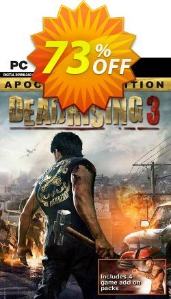 Dead Rising 3 - Apocalypse Edition PC Coupon discount Dead Rising 3 - Apocalypse Edition PC Deal 2021 CDkeys - Dead Rising 3 - Apocalypse Edition PC Exclusive Sale offer for iVoicesoft