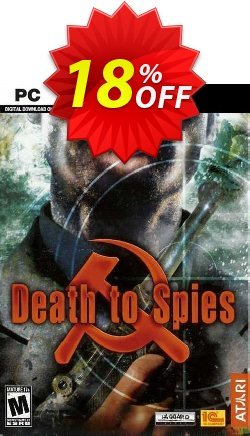 Death to Spies PC Coupon discount Death to Spies PC Deal 2021 CDkeys - Death to Spies PC Exclusive Sale offer for iVoicesoft