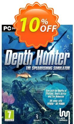 Depth Hunter - PC  Coupon discount Depth Hunter (PC) Deal 2021 CDkeys - Depth Hunter (PC) Exclusive Sale offer for iVoicesoft