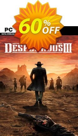 Desperados III - Deluxe Edition PC Coupon discount Desperados III - Deluxe Edition PC Deal 2021 CDkeys - Desperados III - Deluxe Edition PC Exclusive Sale offer for iVoicesoft