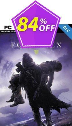 Destiny 2: Forsaken PC - DLC Coupon discount Destiny 2: Forsaken PC - DLC Deal 2021 CDkeys - Destiny 2: Forsaken PC - DLC Exclusive Sale offer for iVoicesoft