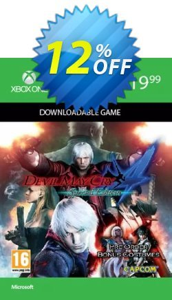 Devil May Cry 4 Special Edition Xbox One Coupon discount Devil May Cry 4 Special Edition Xbox One Deal 2021 CDkeys. Promotion: Devil May Cry 4 Special Edition Xbox One Exclusive Sale offer for iVoicesoft