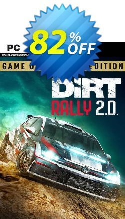 Dirt Rally 2.0 Game of the Year Edition PC Coupon discount Dirt Rally 2.0 Game of the Year Edition PC Deal 2021 CDkeys - Dirt Rally 2.0 Game of the Year Edition PC Exclusive Sale offer for iVoicesoft