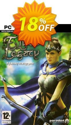 Elven Legacy PC Coupon discount Elven Legacy PC Deal 2021 CDkeys - Elven Legacy PC Exclusive Sale offer for iVoicesoft