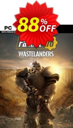 Fallout 76: Wastelanders PC - WW  Coupon discount Fallout 76: Wastelanders PC (WW) Deal 2021 CDkeys. Promotion: Fallout 76: Wastelanders PC (WW) Exclusive Sale offer for iVoicesoft