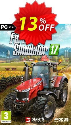 Farming Simulator 17 PC Coupon discount Farming Simulator 17 PC Deal 2021 CDkeys - Farming Simulator 17 PC Exclusive Sale offer for iVoicesoft