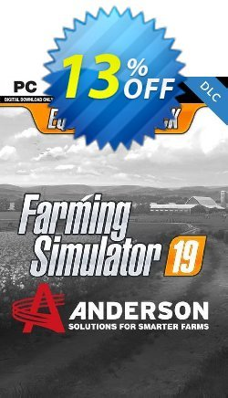 Farming Simulator 19 - Anderson Group Equipment Pack PC Coupon discount Farming Simulator 19 - Anderson Group Equipment Pack PC Deal 2021 CDkeys - Farming Simulator 19 - Anderson Group Equipment Pack PC Exclusive Sale offer for iVoicesoft