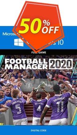 Football Manager 2020 PC - Windows 10 - UK  Coupon discount Football Manager 2020 PC - Windows 10 (UK) Deal 2021 CDkeys - Football Manager 2020 PC - Windows 10 (UK) Exclusive Sale offer for iVoicesoft