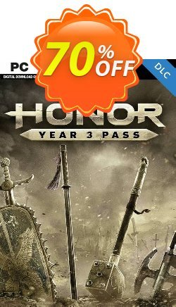 For Honor - Year 3 Pass PC - DLC - EU  Coupon discount For Honor - Year 3 Pass PC - DLC (EU) Deal 2021 CDkeys - For Honor - Year 3 Pass PC - DLC (EU) Exclusive Sale offer for iVoicesoft