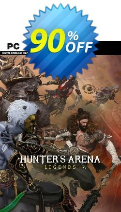 Hunter's Arena: Legends PC Coupon discount Hunter's Arena: Legends PC Deal 2021 CDkeys. Promotion: Hunter's Arena: Legends PC Exclusive Sale offer for iVoicesoft