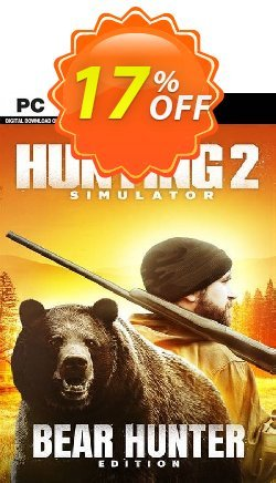 Hunting Simulator 2 Bear Hunter Edition PC Coupon discount Hunting Simulator 2 Bear Hunter Edition PC Deal 2021 CDkeys - Hunting Simulator 2 Bear Hunter Edition PC Exclusive Sale offer for iVoicesoft
