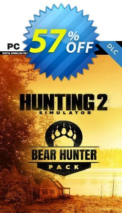 Hunting Simulator 2 Bear Hunter Pack PC-DLC Coupon discount Hunting Simulator 2 Bear Hunter Pack PC-DLC Deal 2021 CDkeys - Hunting Simulator 2 Bear Hunter Pack PC-DLC Exclusive Sale offer for iVoicesoft
