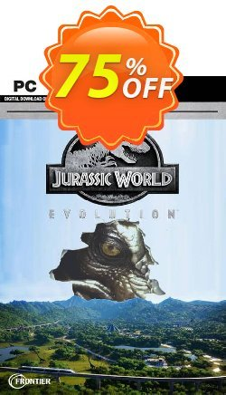 Jurassic World Evolution - Deluxe Edition PC Coupon discount Jurassic World Evolution - Deluxe Edition PC Deal 2021 CDkeys - Jurassic World Evolution - Deluxe Edition PC Exclusive Sale offer for iVoicesoft