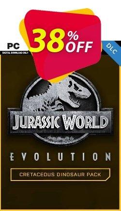 Jurassic World Evolution PC: Cretaceous Dinosaur Pack DLC Coupon discount Jurassic World Evolution PC: Cretaceous Dinosaur Pack DLC Deal 2021 CDkeys - Jurassic World Evolution PC: Cretaceous Dinosaur Pack DLC Exclusive Sale offer for iVoicesoft