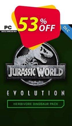 Jurassic World Evolution PC: Herbivore Dinosaur Pack DLC Coupon discount Jurassic World Evolution PC: Herbivore Dinosaur Pack DLC Deal 2021 CDkeys - Jurassic World Evolution PC: Herbivore Dinosaur Pack DLC Exclusive Sale offer for iVoicesoft