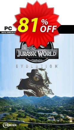 Jurassic World Evolution PC Coupon discount Jurassic World Evolution PC Deal 2021 CDkeys - Jurassic World Evolution PC Exclusive Sale offer for iVoicesoft