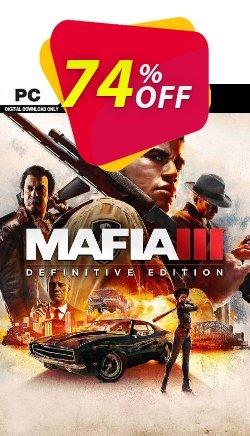 Mafia III - Definitive Edition PC - EU  Coupon discount Mafia III - Definitive Edition PC (EU) Deal 2021 CDkeys - Mafia III - Definitive Edition PC (EU) Exclusive Sale offer for iVoicesoft
