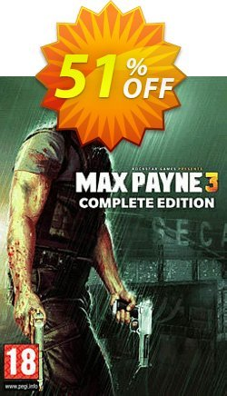 Max Payne 3 Complete Edition PC Coupon discount Max Payne 3 Complete Edition PC Deal 2021 CDkeys - Max Payne 3 Complete Edition PC Exclusive Sale offer for iVoicesoft