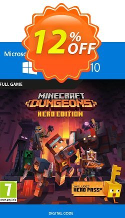Minecraft Dungeons Hero Edition - Windows 10 PC Coupon discount Minecraft Dungeons Hero Edition - Windows 10 PC Deal 2021 CDkeys - Minecraft Dungeons Hero Edition - Windows 10 PC Exclusive Sale offer for iVoicesoft