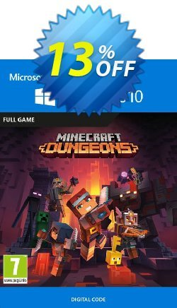 Minecraft Dungeons - Windows 10 PC Coupon discount Minecraft Dungeons - Windows 10 PC Deal 2021 CDkeys - Minecraft Dungeons - Windows 10 PC Exclusive Sale offer for iVoicesoft