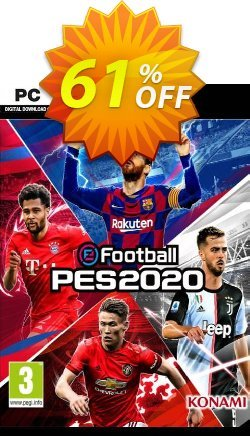 eFootball PES 2020 PC Coupon discount eFootball PES 2020 PC Deal 2021 CDkeys - eFootball PES 2020 PC Exclusive Sale offer for iVoicesoft