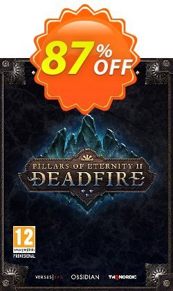 Pillars of Eternity II 2 Deadfire Obsidian Edition PC Coupon discount Pillars of Eternity II 2 Deadfire Obsidian Edition PC Deal 2021 CDkeys - Pillars of Eternity II 2 Deadfire Obsidian Edition PC Exclusive Sale offer for iVoicesoft