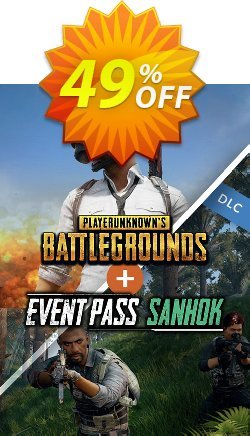 Playerunknowns Battlegrounds - PUBG + Event Pass Sanhok PC Coupon discount Playerunknowns Battlegrounds (PUBG) + Event Pass Sanhok PC Deal 2021 CDkeys - Playerunknowns Battlegrounds (PUBG) + Event Pass Sanhok PC Exclusive Sale offer for iVoicesoft