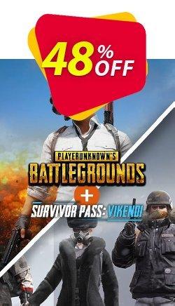 PlayerUnknowns Battlegrounds - PUBG PC + Survivor Pass Vikendi DLC Coupon discount PlayerUnknowns Battlegrounds (PUBG) PC + Survivor Pass Vikendi DLC Deal 2021 CDkeys - PlayerUnknowns Battlegrounds (PUBG) PC + Survivor Pass Vikendi DLC Exclusive Sale offer for iVoicesoft