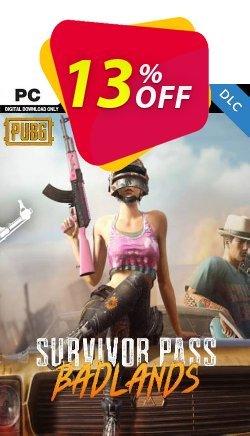 PlayerUnknowns Battlegrounds - PUBG PC Survivor Pass 5: Badlands DLC Coupon discount PlayerUnknowns Battlegrounds (PUBG) PC Survivor Pass 5: Badlands DLC Deal 2021 CDkeys - PlayerUnknowns Battlegrounds (PUBG) PC Survivor Pass 5: Badlands DLC Exclusive Sale offer for iVoicesoft